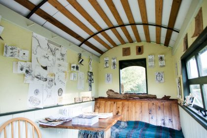 Shepherds hut display 2020